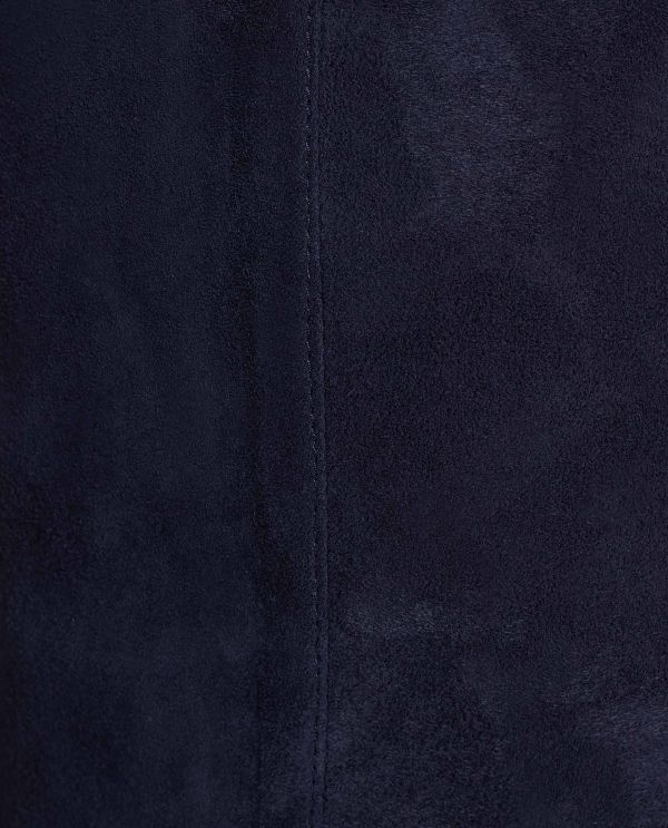 Suede legging with stretch