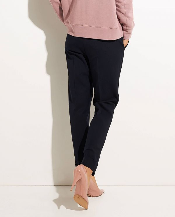 Tailored pants in flanell