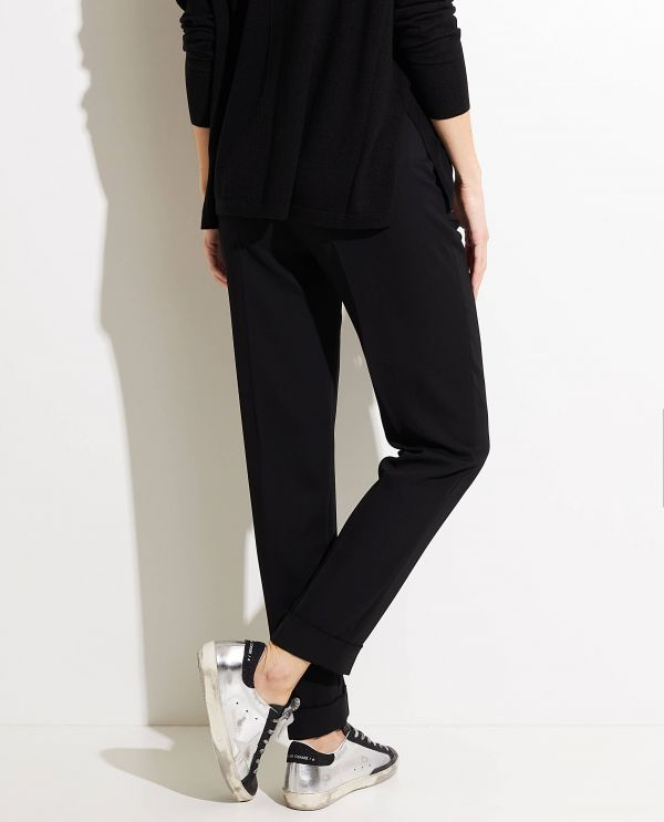 Polyester tailored pants