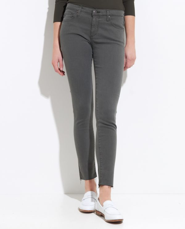 Low-Rise Super Skinny Ankle Legging