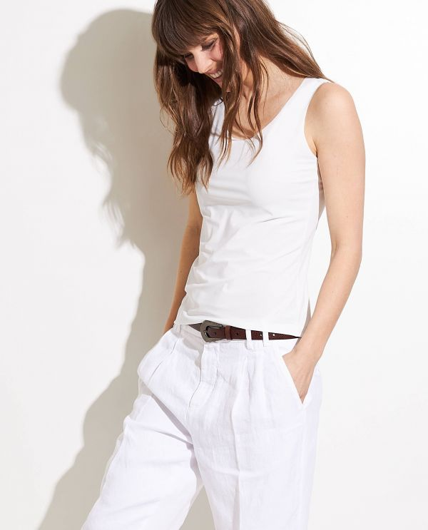 Lightweight top in stretch quality