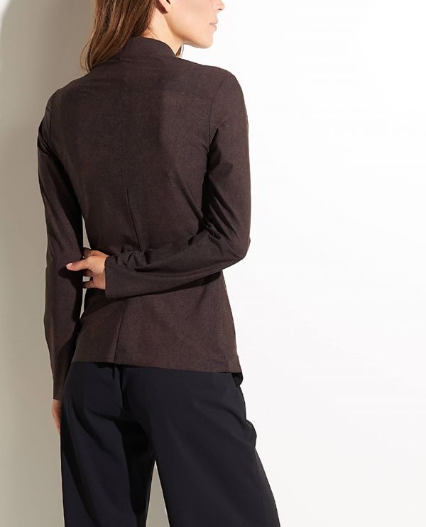 Slim fit shirt with stretch