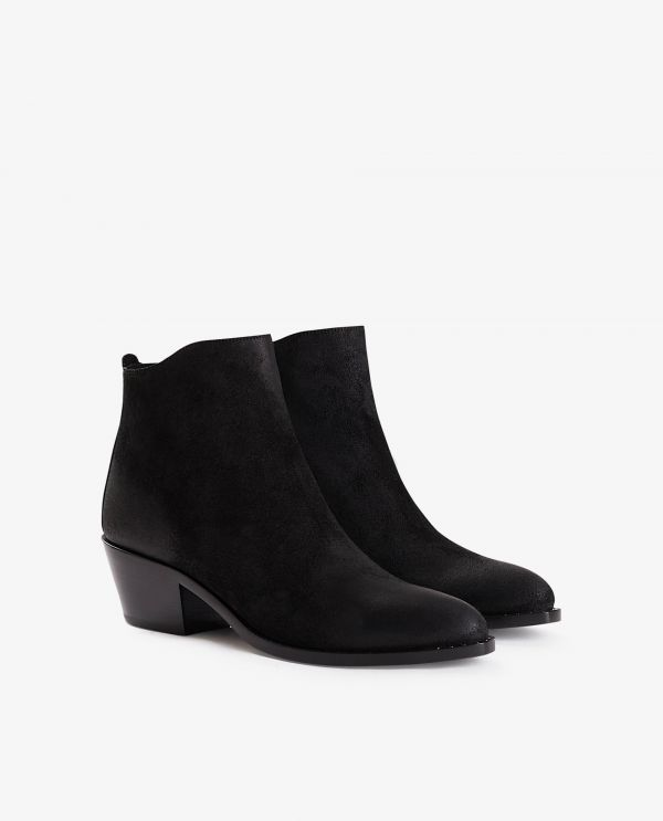 Calf Leather ankle boots 'Storm'