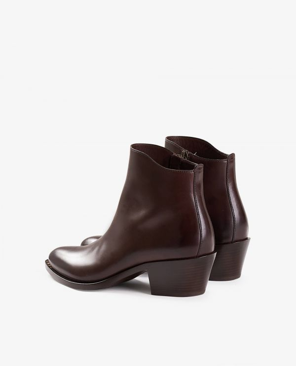 Leather ankle boots 'Berbero'