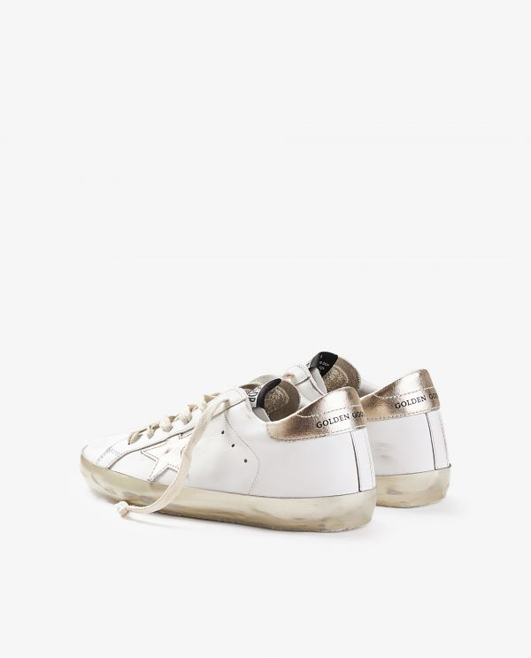 Superstar leren sneakers