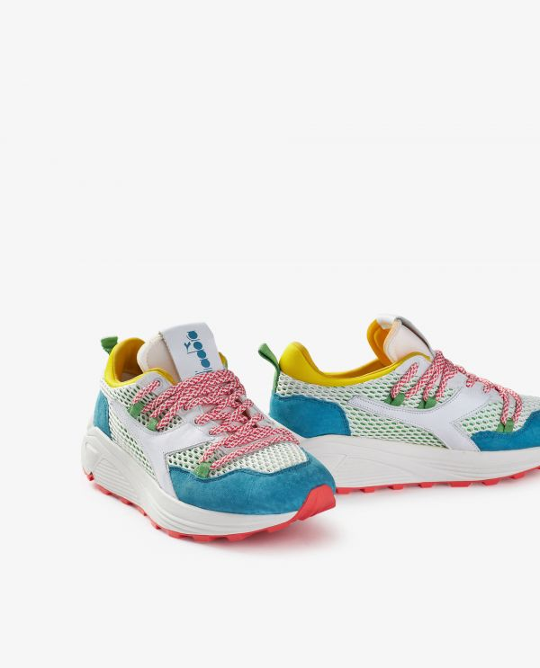 Rave Hiking suede sneakers
