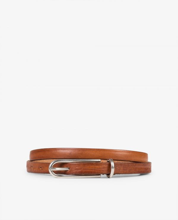 Small leather belt