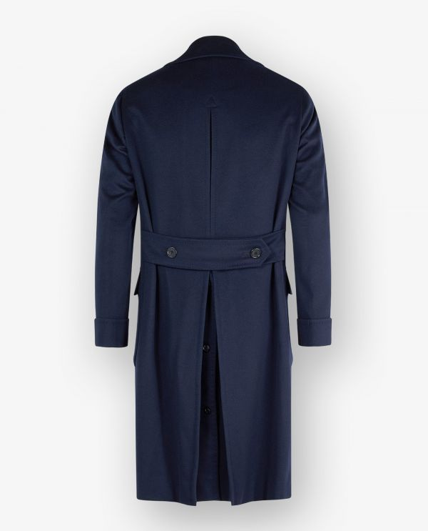 Double Breasted Cashmere Overcoat