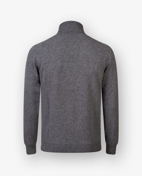 Cashmere Wool Roll Neck Sweater