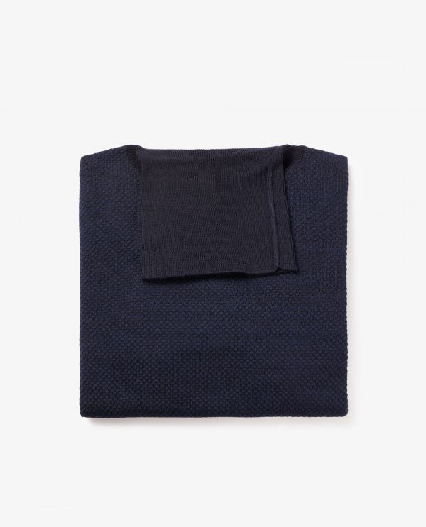 Wool Cotton Roll Neck