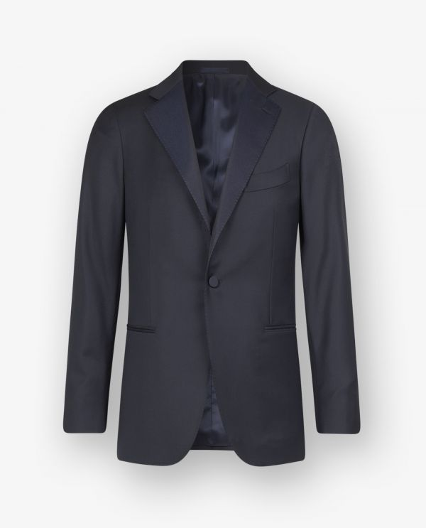 Wollen Peak Lapel Smoking