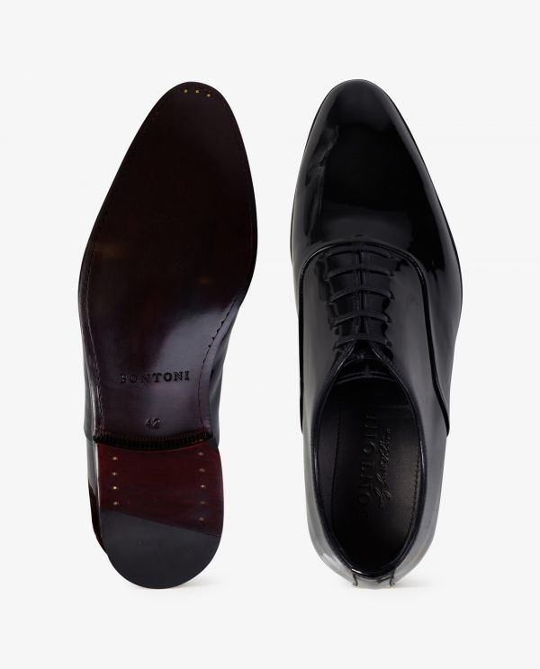 Patent Leather Smoking Shoes