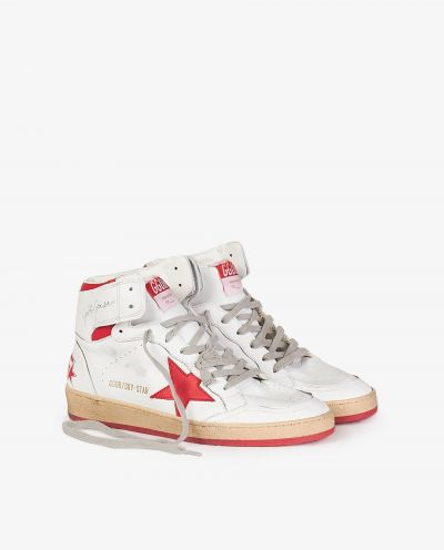Sky Star leather sneakers
