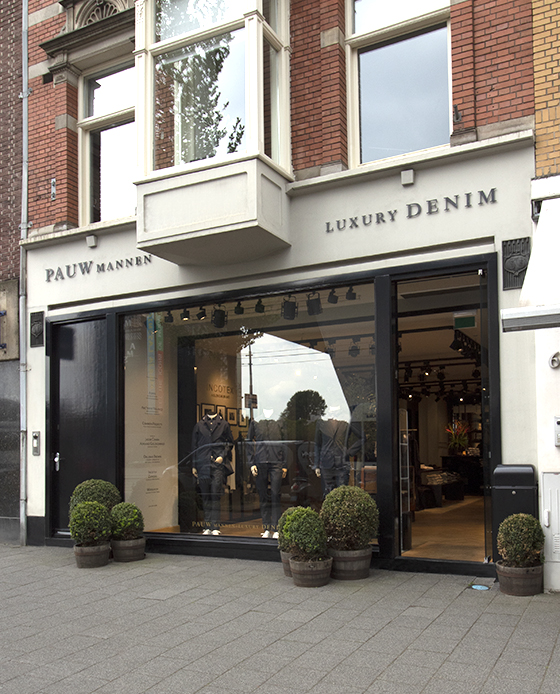 pauw mannen luxury denim
